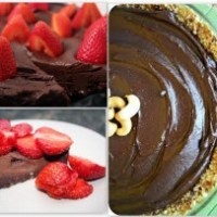 Chocolate Raw Cake - simple, healthy, delicious