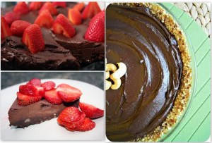 Chocolate Raw Cake – simple, healthy, delicious