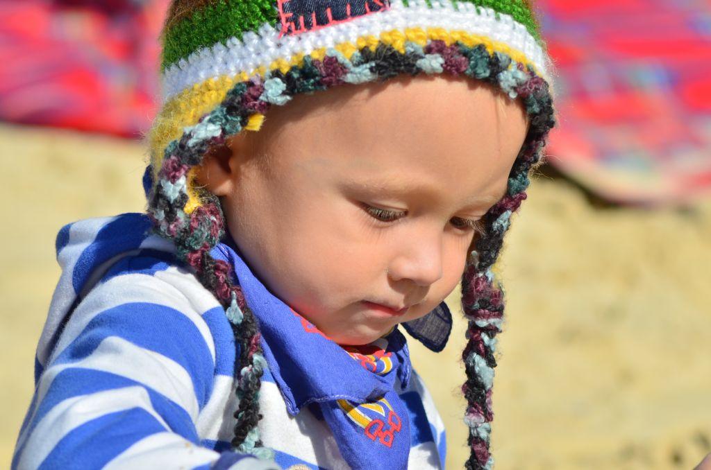 Child on Beach_83