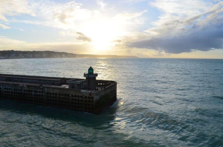 Departing Dieppe