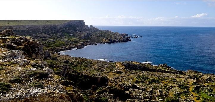 Mellieha coastline