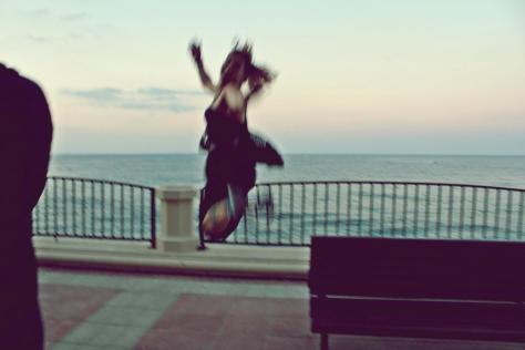 Leap mid DanceWalk Malta