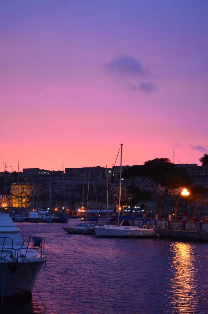 Msida Yacht Marina Sun Rise