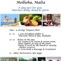 Yoga & Spa Day, Mellieha, Malta