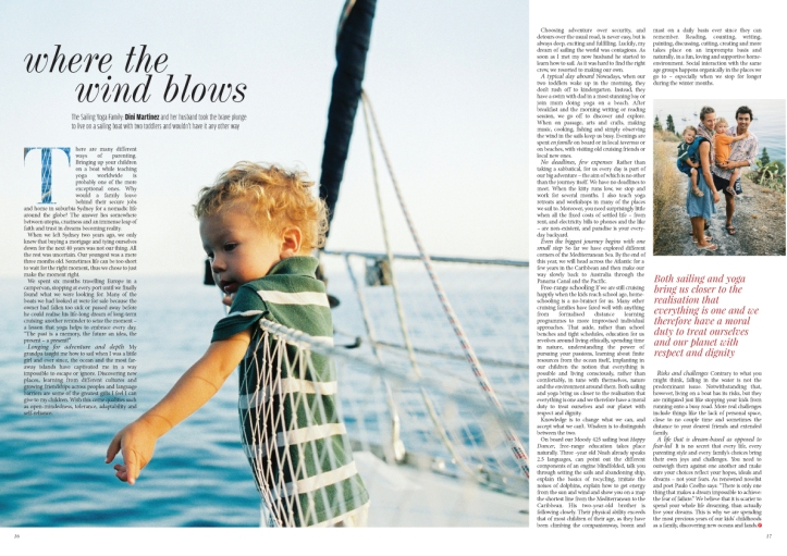 Media Sailing Yoga Family