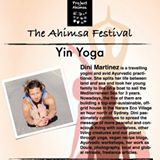 Dini Martinez Yoga at Ahimsa Festival