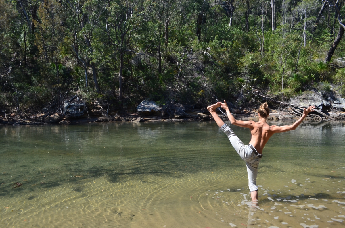 Yoga in the Creeks