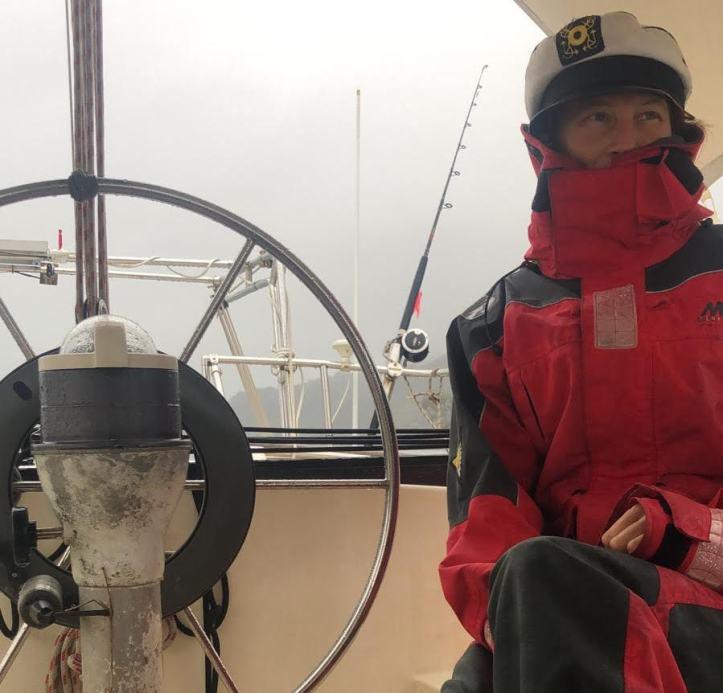 Dini captain rainy day